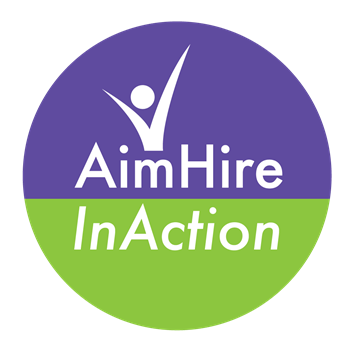 aimhire inaction logo 350