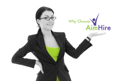 Why Choose AimHire - Denver Staffing & recruiting
